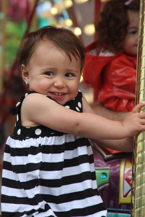 cutelittlepanda:  My cousin, Sofia :)   Cutest little girl ever!