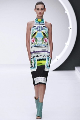 (via Mary Katrantzou @ London Womenswear S/S 2013 - SHOWstudio - The Home of Fashion Film)