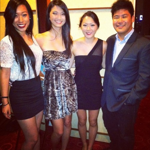101 Gala !!! With my faves ! @angwangg, @klam1219, & @dhsunhp ❤❤❤😘😃✌ #101gala #hyatt #cambridge #asians #alldolledup #fancy  (Taken with Instagram at Hyatt Regency Cambridge, Overlooking Boston)