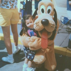Pluto & I in the 90's My Fav