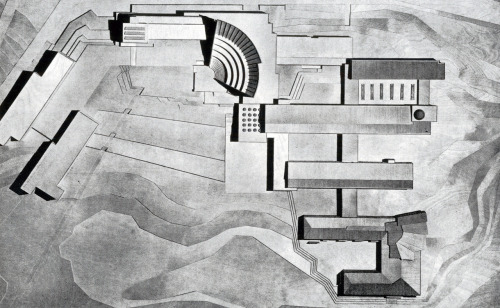 © alvar aalto - finnish technical institute - otaniemi, finland - 1949