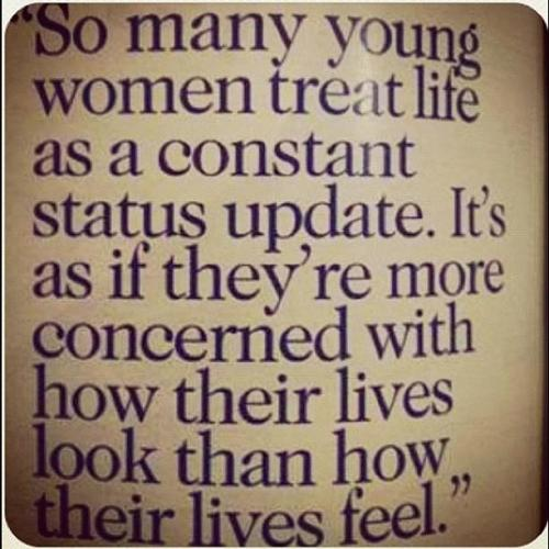 This is really true. Why do ALL women do that?