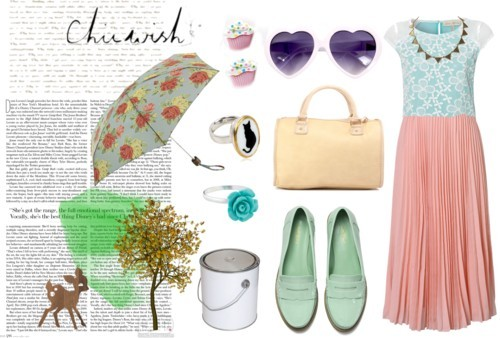 Pastel dreaming in such a grey day by robbie featuring loafer shoes