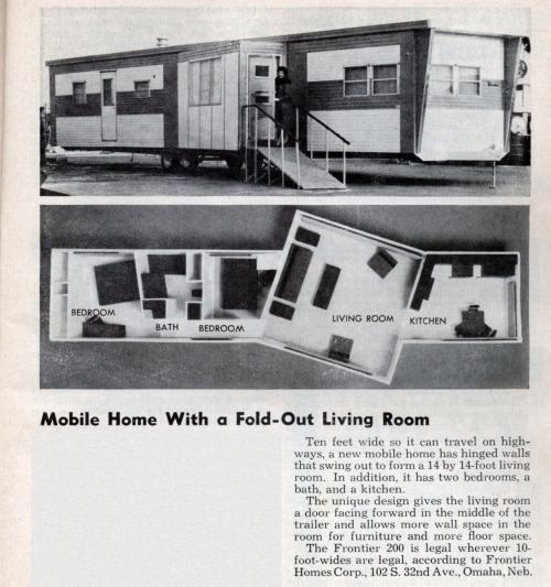t-s-k-b:  Mobile Home With a Fold-Out Living Room | Modern Mechanix