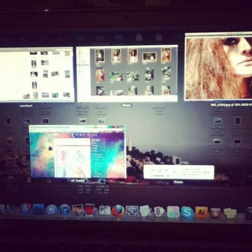 This sums up my night #tumblr #itunes #photoshop #editing #photography (Taken with Instagram at Home Sweet Home)