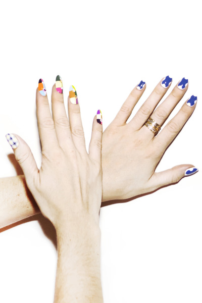 madelinepoolenails:  Nails for @Nylon Magazine by @mpnails