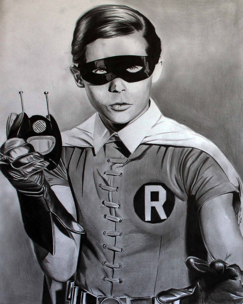 Burt Ward Robin by Don Child