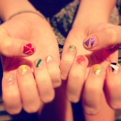 nail polish insanity yo (Taken with Instagram at Bottletree Cafe)
