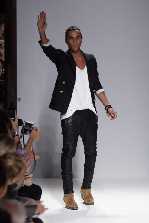 Olivier Rousteing - The young, talented, and gorgeous designer for Balmain.