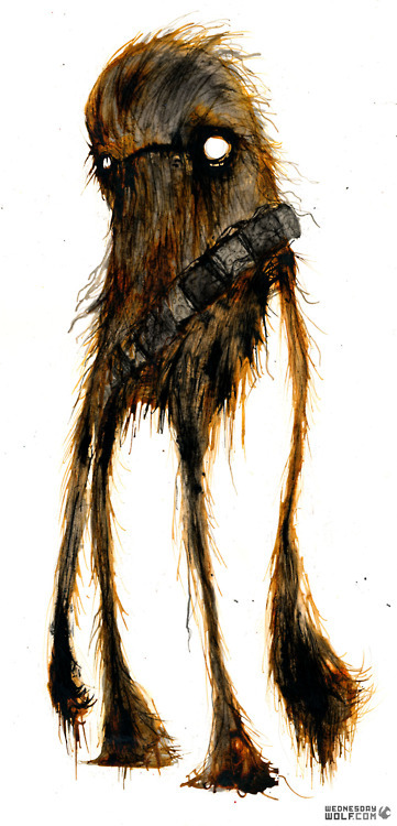 Chewie by WednesdayWolf