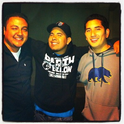 THREE AMIGOS!!! #Homies #Buddies #ThreeAmigos #HighSchool #BestFriends #HappyBDay  (Taken with Instagram)