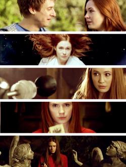 doctor who amy pond karen gillan Arthur Darvill Rory Williams originalstuff the angels take manhattan It's all the episodes originalstuffdw
