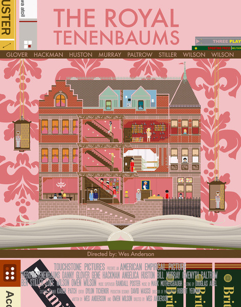 the royal tenenbaums by Alan Segama