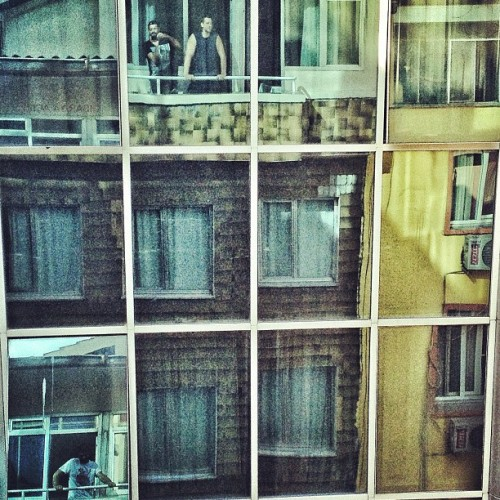 #reflection #mirror #self #filmcrew #izmir (Taken with Instagram at Guzel Hotel Izmir)