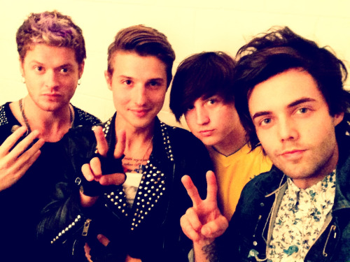 Sincerely,  Hot Chelle Rae xx (Seconds before performing in Rio De Janeiro for the first time)