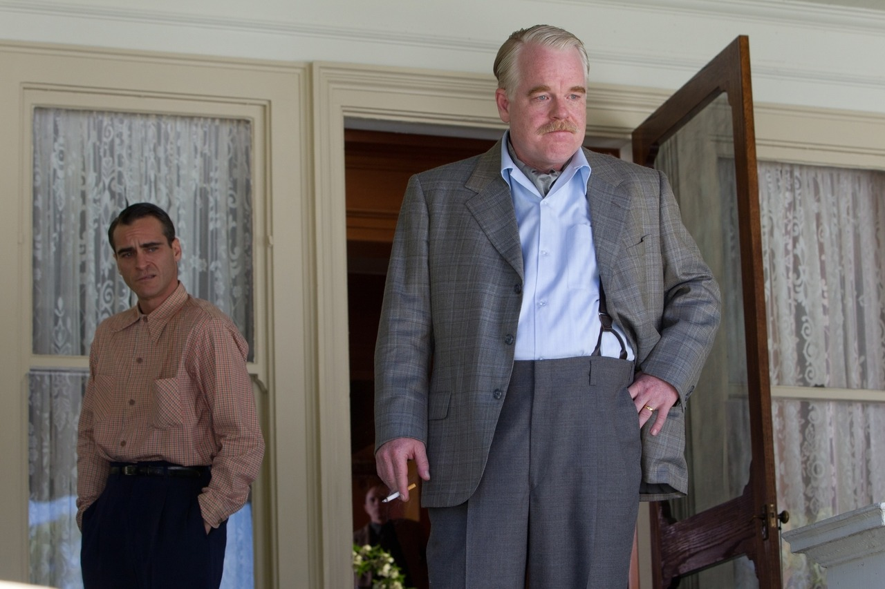"bohemea:  Philip Seymour Hoffman & Joaquin Phoenix play so beautifully off each other in The Master, it's as if they were meant to star side-by-side in a heartbreaking film that made me not want to shout, but softly whisper, ""Kiss him."" It feels strange to call their performances career-defining, because both men have already proved their worth & importance in the film community in previous performances, but watching the two of them together was an experience - outstanding, breath-taking performances by both men, and Amy Adams as well. Paul Thomas Anderson, as both writer & director, lives up to the title - he's a master."
