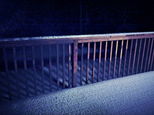 Ok, here it is…  First snow in Anchorage at 23:47 on September 28! at Nickell Circle – View on Path.