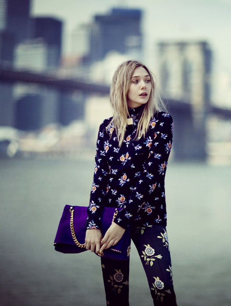 Elizabeth Olsen - Vogue by Boo George, October 2012