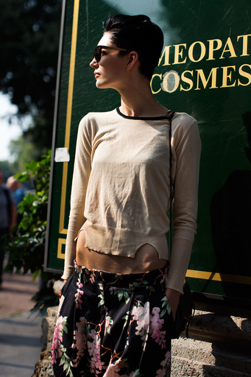 the sartorialist: On the Street….Piazza Oberdan, Milan