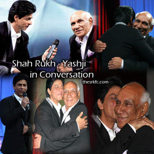 Gallery Update: Shah Rukh Khan in conversation with Yashji on his 80th birthday -174 HQ Photos (X)
