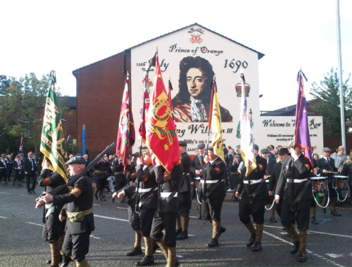 Today one of the largest loyalist parades ever is being held in Belfast the mark the 100th anniversary of the signing of Ulster's Covenant.