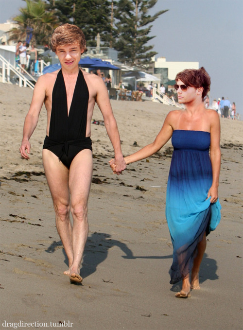 Never before seen photo of Liam and Louis in Australia!