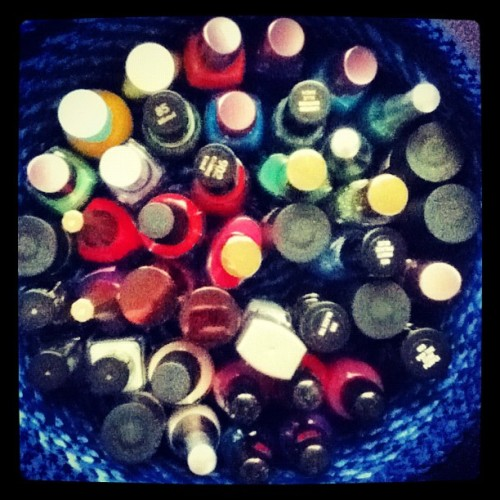 Sorted #organised #whoop #nails #nailpolish #springcleaning #lol XX (Taken with Instagram)
