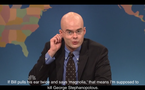 Bill Hader's James Carville is the best thing in the universe.