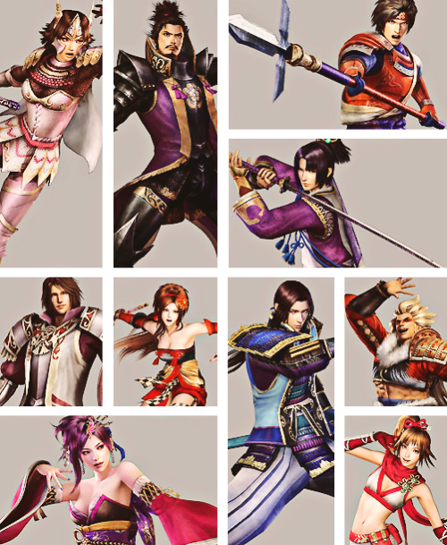 misskaka4ever:  The best warriors (( samurai warriors 3 ))