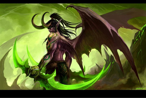 underrated-psycho:  Illidan Stormrage