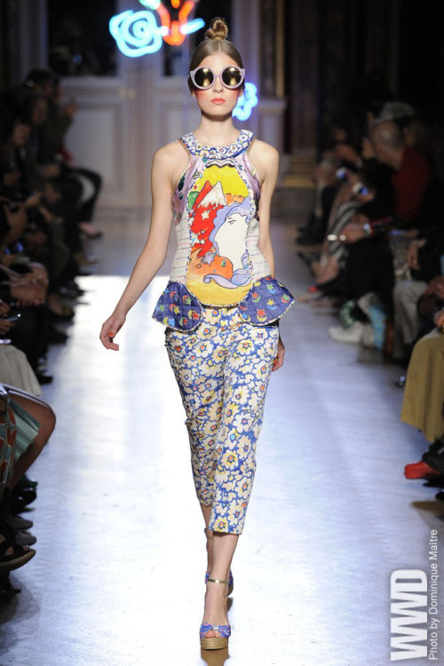 womensweardaily:  Tsumori Chisato RTW Spring 2013 The childlike wonderment with which Tsumori Chisato approaches design emanated from the American Southwest.  For More See all of WWD.com's RTW Spring 2013 Runway Coverage