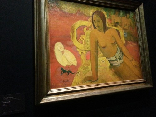 Vairumati. Paul Gauguin, 1897. D'Orsay, Paris.
