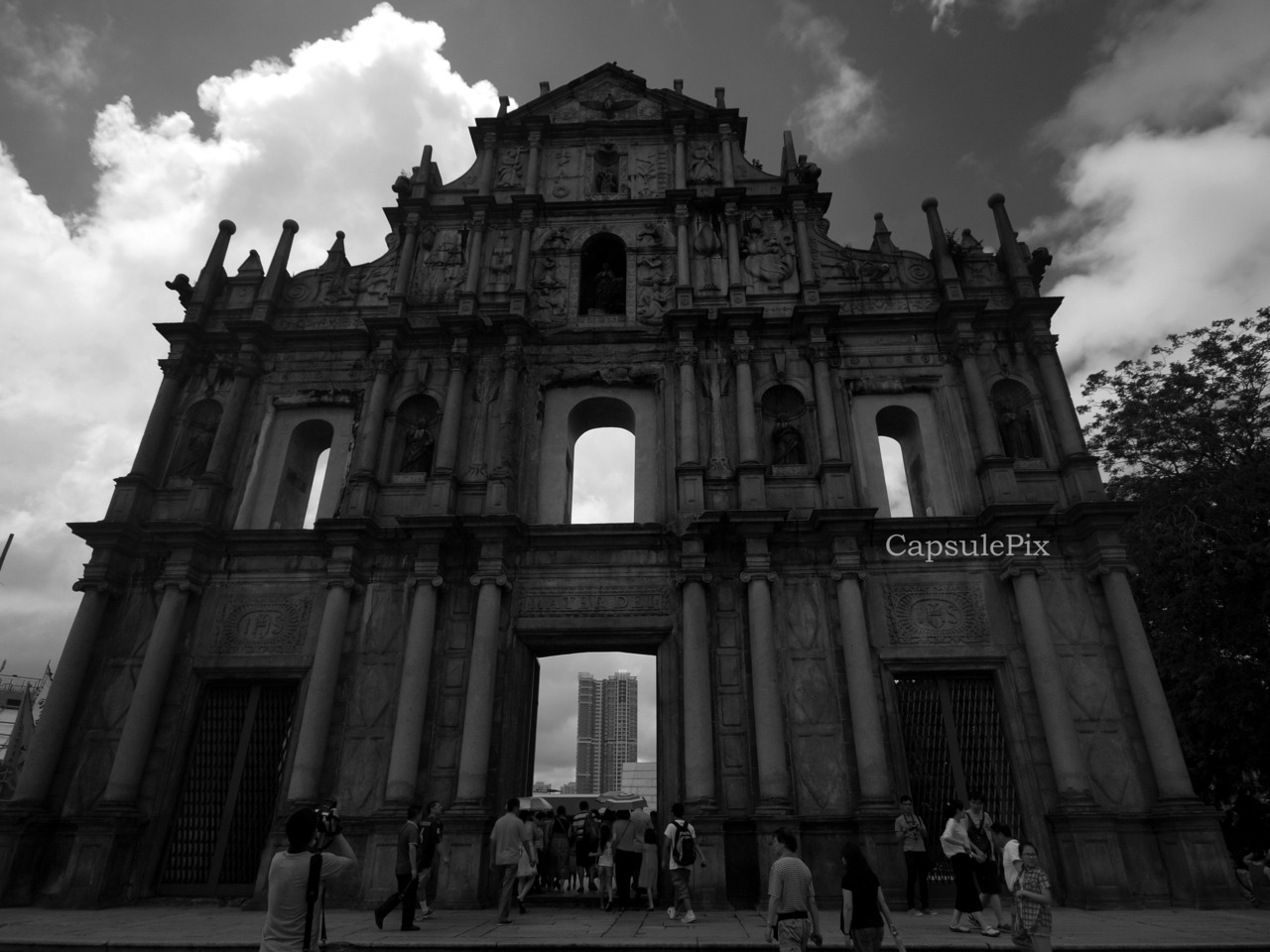 Ruins of St. Paul's is the most famous sight in Macau.