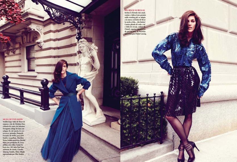 Vogue Mexico | Nagi Sakai | Sarah Gore Reeves | Hilary Rhoda | Oct. 2012