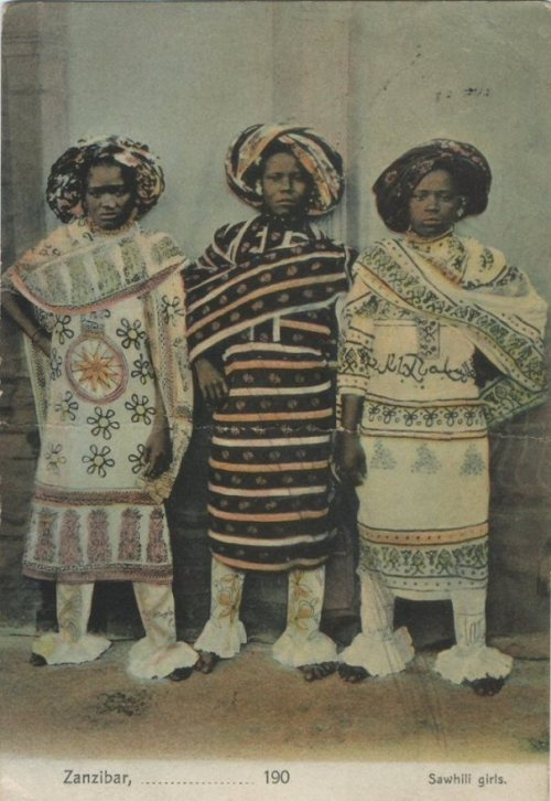 dynamicafrica:  Vintage images of people from Zanzibar