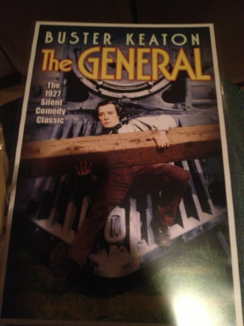 Just won an awesome poster at the Buster Keaton Celebration!