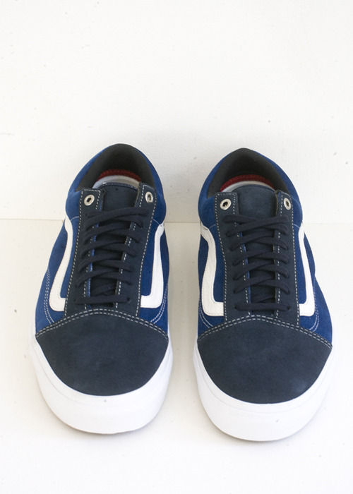 "Vans Syndicate. 35th Anniversary ""JAZZ STRIPE"". Old Skool Pro ""S"". Navy/ STV Navy."