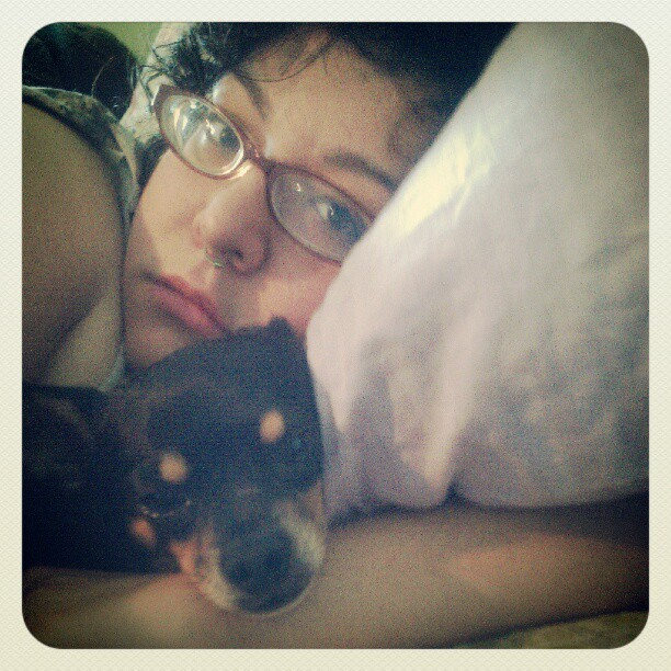 good morning i guess #dogge #selfie #chicharron  (Taken with Instagram at Napsville)