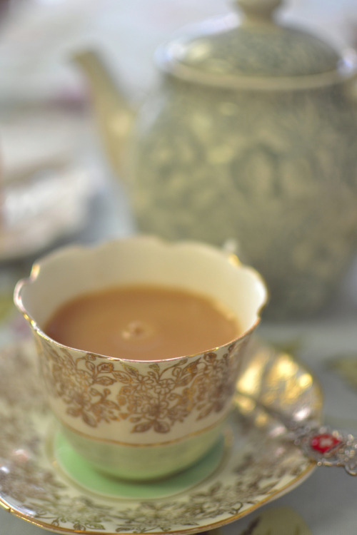 steeping:  The White Rabbit Teahouse (by Girl With Butterfly Wings)