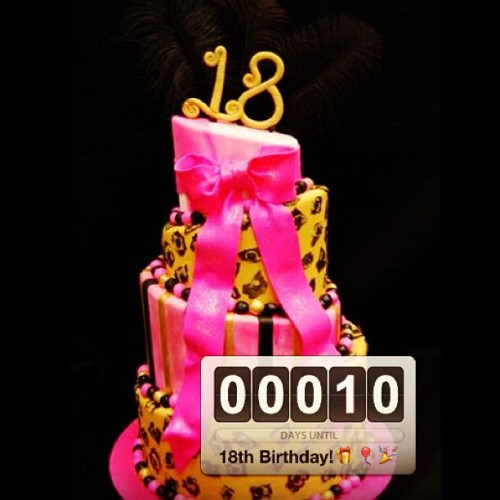 Is this real?! :D ten days till my 18th birthday!!! :D #ah #ten#days #18th #birthday #legal #excited (Taken with Instagram)