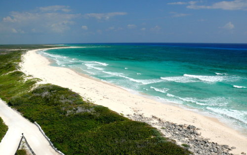 Mexico declares nature reserve on Cozumel island  Mexico's environmental authorities say they have declared the northern shore of the Caribbean island of Cozumel a protected nature area, with strict limits on human activity there. The Environment Department says about 146 square miles (378 square kilometers) of the island and coastal waters will be protected under the measure. The area designated Wednesday constitutes the shores and offshore shelf on the northern half of the island. The area is mostly unpopulated and well away from Cozumel's town, marinas and cruise ship dock. Two species have native ranges only on the island: the Cozumel spiny lizard and the Cozumel racoon, which is a dwarf raccoon.