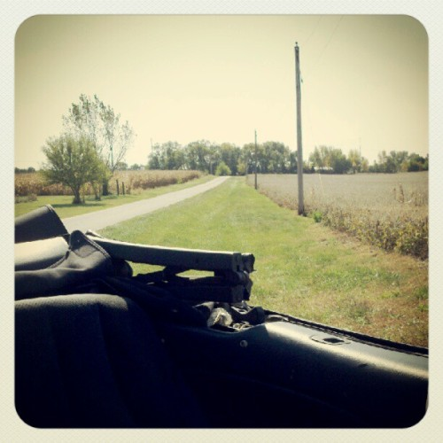 It's a top-down kind of day. #gorgeous (Taken with Instagram)