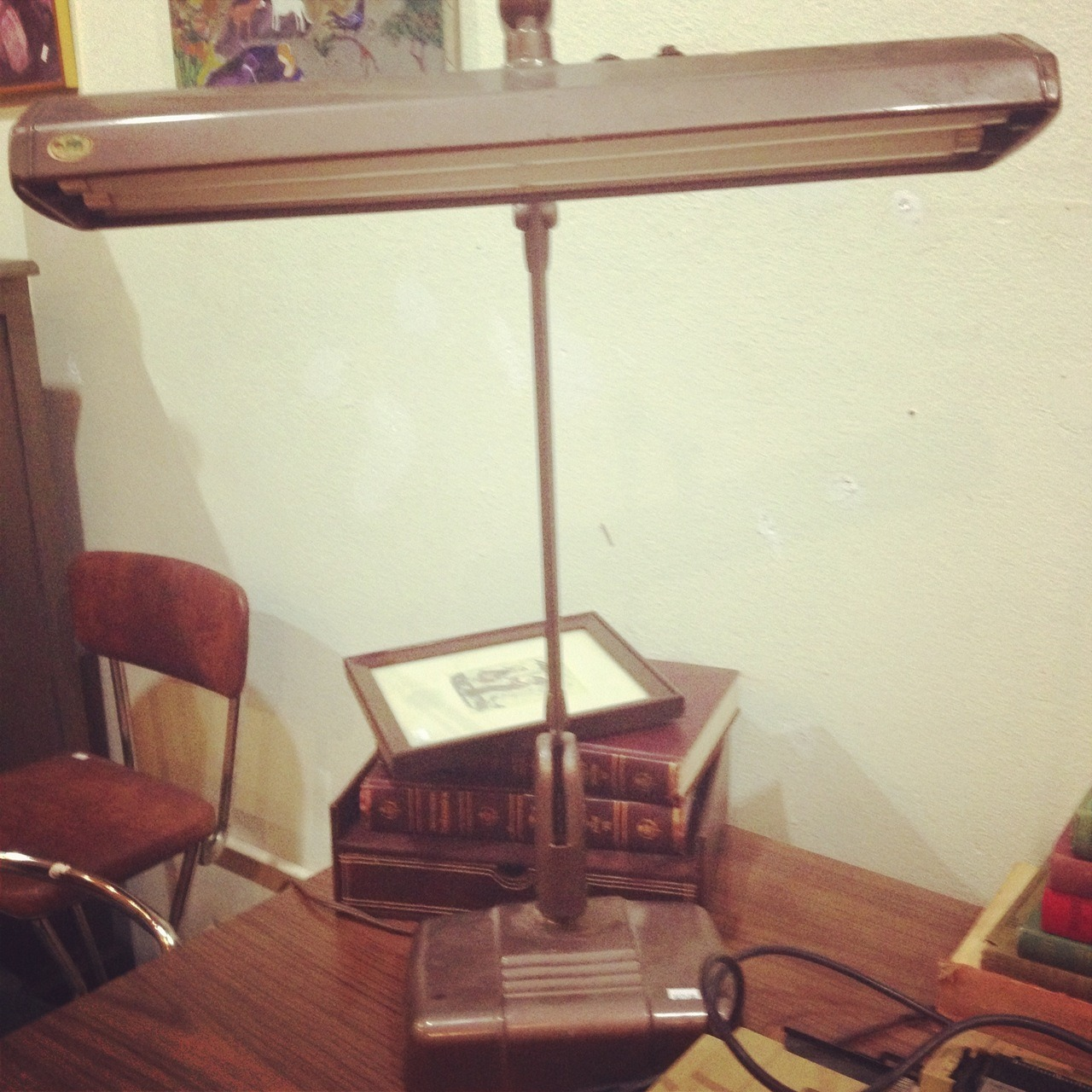 I want this desk lamp. I don't even have a desk, but I want this desk lamp.