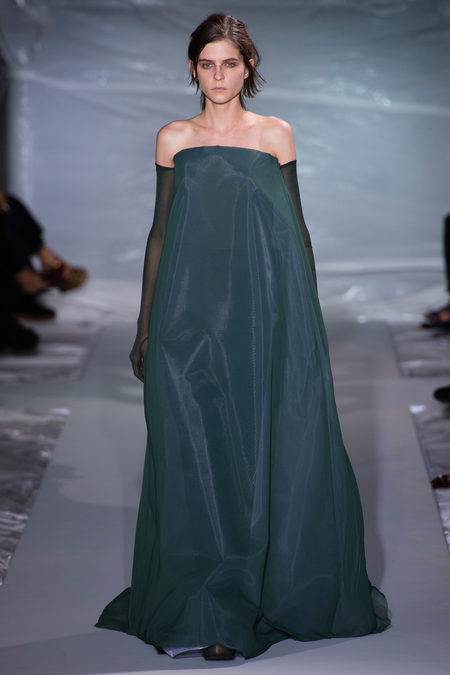 Final Look at Maison Martin Margiela Spring 2013