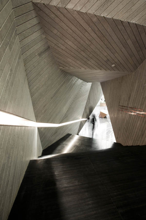 Chongqing Mountain & City Sales Office Interior by One Plus Partnership in Chongqing, China