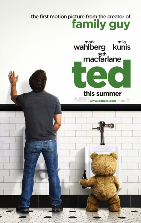 Ted. Whoaa soo funny! It's like watching Family Guy but in human version. The comedy, the plot, everything. Cool :)