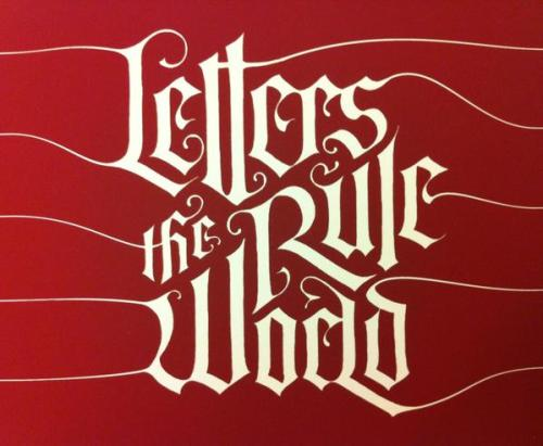 serialthrillerinspiration:  Letters Rule the World