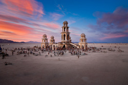 bmrgould:  Burning Man Temple | IanBrewer