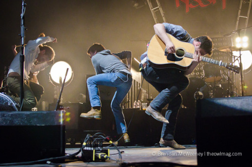 kristophilips:  Mumford & Sons @ Not So Silent Night 2011, 12/9/11 by The Owl Mag on Flickr.