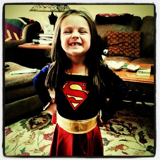 Kara Kent, Supergirl. Life made.  (Taken with Instagram)